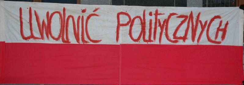 Uwolnić Politycznych_Gdańsk 1985
