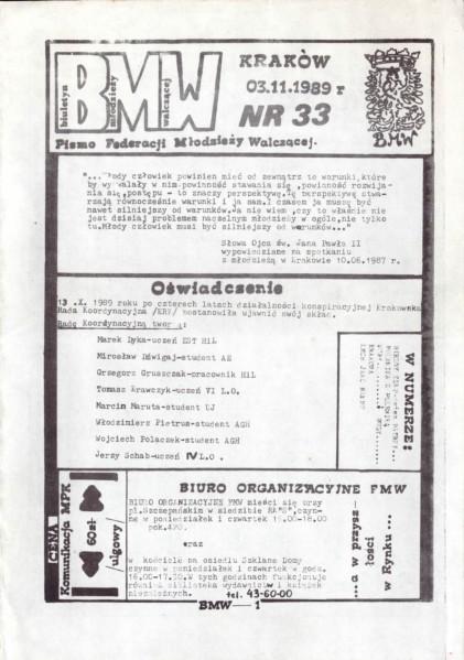 BMW nr 33
