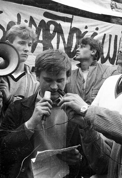 """3 maja 1989 Gdańsk """"Powstaniec"""""""