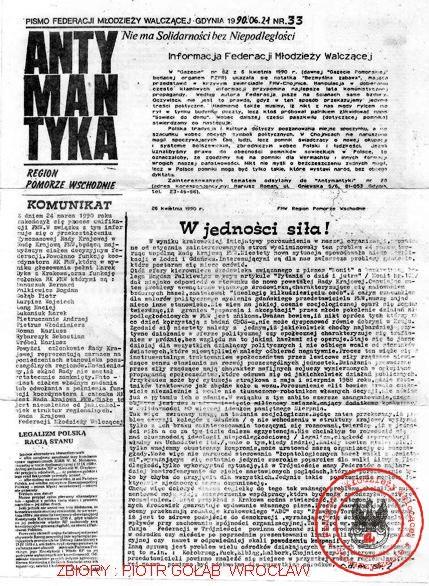 ANTYMANTYKA NR 33