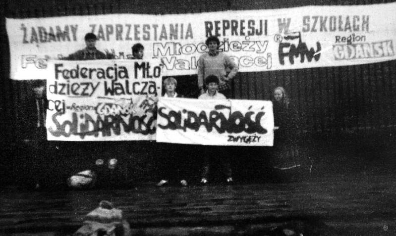 Pielgrzymka do Częstochowy - transparenty FMW