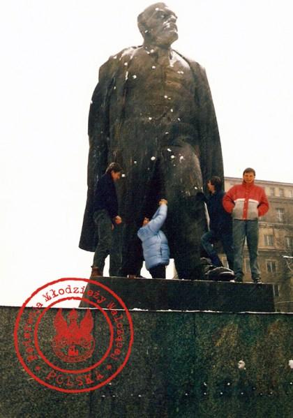 """18 - Od lewej Grzesiek, Wiesiek, Marek, """"Andrzej"""""""