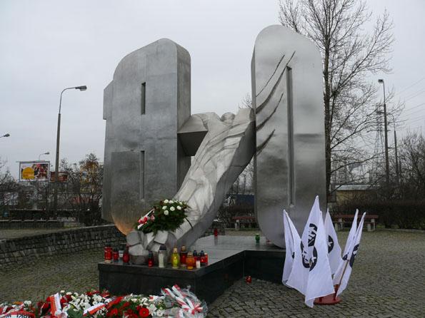 Pomnik ofiar Grudnia '70 w Gdyni