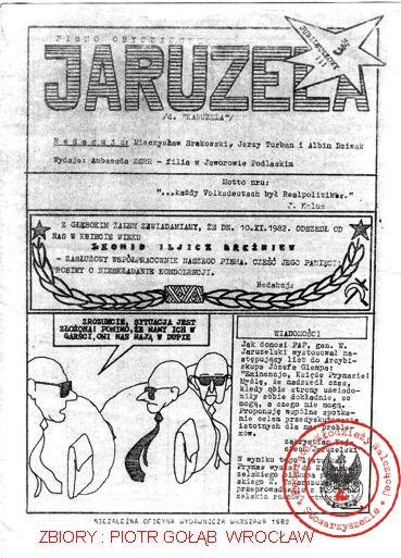 JARUZELA NR 3