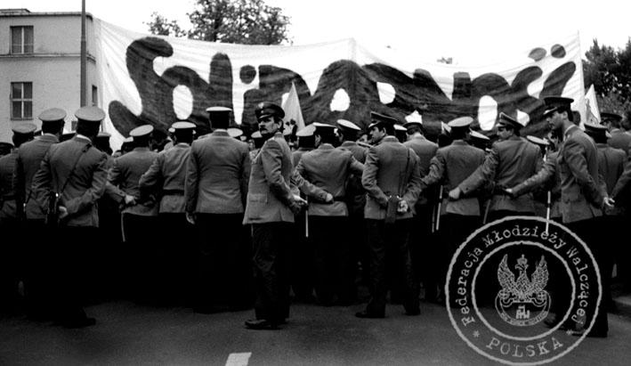 9 - Gdańsk Wrzeszcz - starcie z MO, Gdańsk Wrzeszcz - starcie z MO, milicja czeka na posiłki…