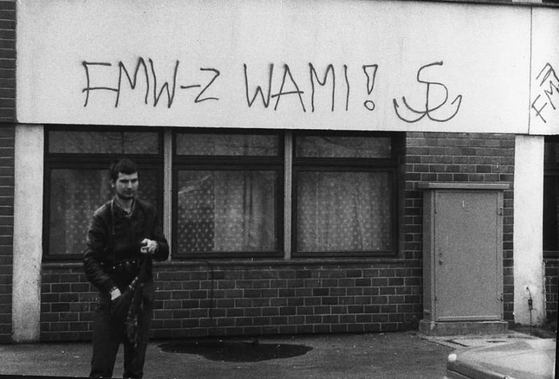 4 - Napis na UG w czasie strajków w 1988 r.