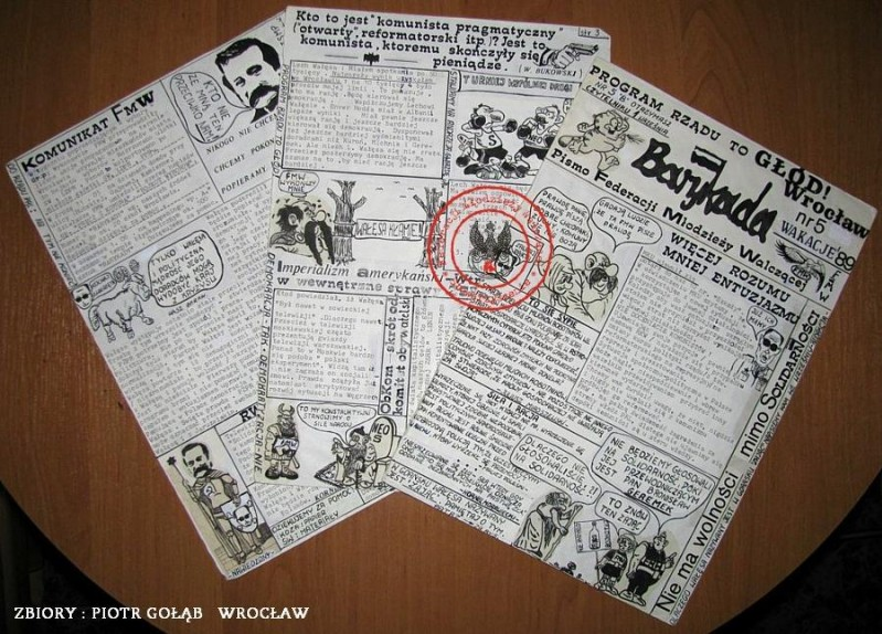 MAKIETA BARYKADY NR 5