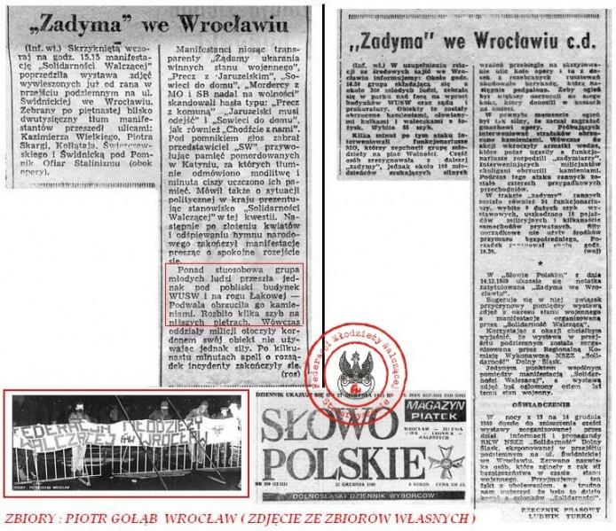 13 XII 1989 WROCŁAW
