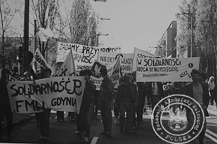 Manifestacja FMW 1990 w Gdyni