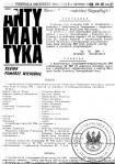 ANTYMANTYKA NR. 35