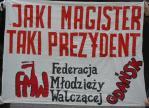 FMW Gdańsk Zaprzysiężenie Kwaśniewskiego