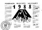 FMW Kraków - kalendarz 1988